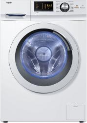 Haier HW80-B14266 Waschmaschine FL / A+++ / 108 kWh/Jahr / 1400 UpM / 8 kg / Aqua Protect Schlauch und Bodenwanne [Energieklasse A+++] Weiss