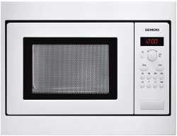 Siemens HF15M251 Einbau-Mikrowelle, cookControl, 17 Liter - 800 Watt - Weiß