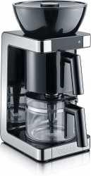 Graef FK702EU Filterkaffeemaschine mit Aroma-Trichter und Touch-Display, 2-10 Tassen - Schwarz