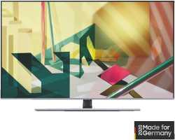 Samsung GQ75Q77T 75 Zoll 4K QLED Smart TV - Nachtschwarz