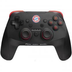 SNAKEBYTE FC Bayern München FCB NSW-Wireless Pro-Controller Schwarz/Rot