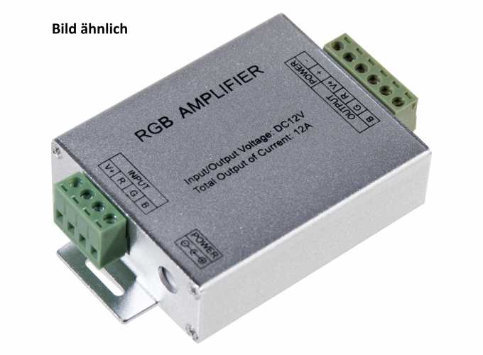 RGB LED Streifen / Strips Repeater